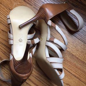 Ann Taylor Gladiator Heels